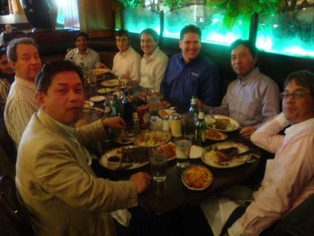 Dinner with Pervasive Management and other MDP Partners