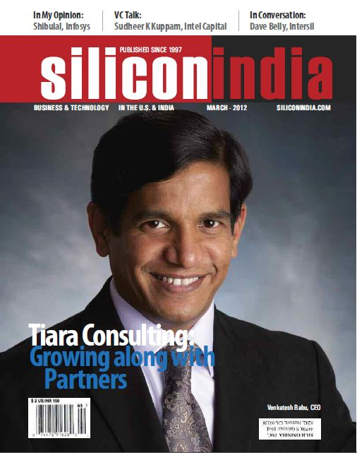 Tiara cover story in Silicon India